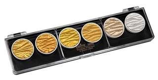 GOLD and SILVER set Coliro Pearlcolors Finetec