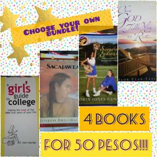 4-BOOK BUNDLE
