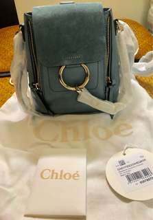 全新Chloe Faye backpack mini