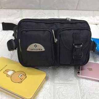 Samsonite Authentic Belt Bag For Men 6x9x3