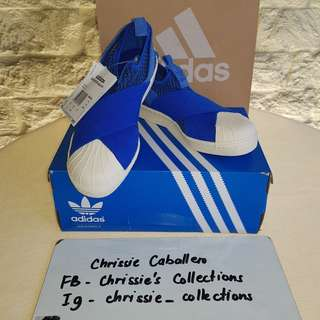 ❤SALE❤BNWT Authentic #Adidas #Superstar Slip Ons 220mm/US 5