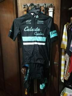 Celeste Cycles and Bianchi Shimano Cycling Kit