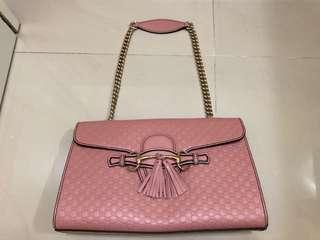 🈹🈹🈹 Gucci 粉紅色 側背手袋