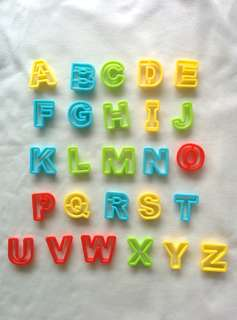 Alphabet Cutter for Playdough