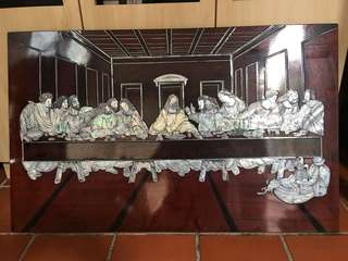 The Last Supper in Mother pearls