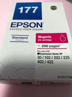 Authentic brand new Epson 177 magenta ink