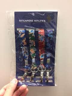 Singapore Airlines (SIA) Batik Lanyard Set