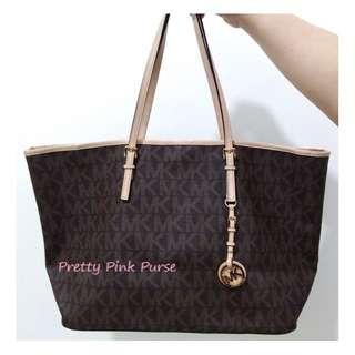 💕Michael Kors Classic brown Tote bag (LARGE) coach kate spade