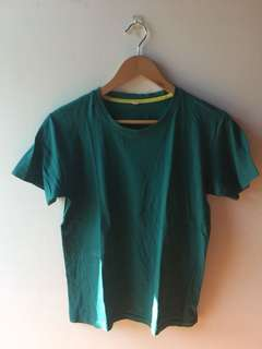 Green Short Sleeve Top
