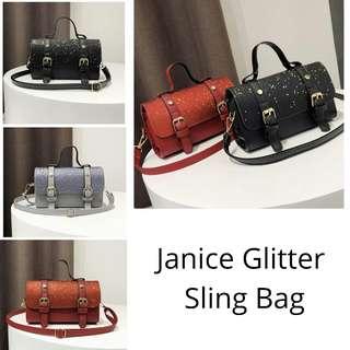 Promo Glitter Handbag