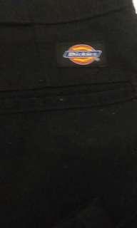Dickies black pants sz 34