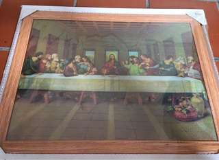Print of Jesus last supper