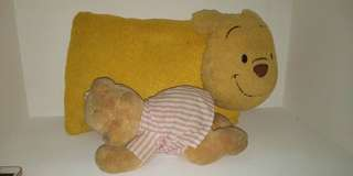 pooh pillow and stuffed toy bundle