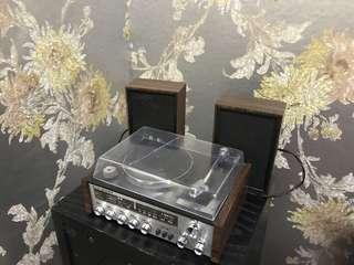 Vintage turntable hifi TOY am radio hong kong