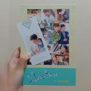 Seventeen LOVE LETTER 專輯 LETTER VERSION 連Hoshi小卡