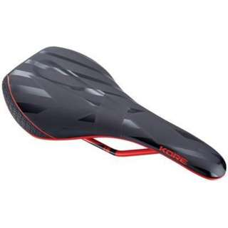 Bicycle Saddle Kore Fuse - Black/Red