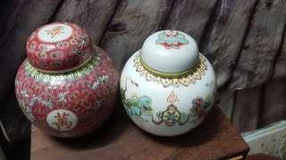 A pair of Old Pot
