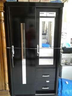 Lemari sleding 2 pintu bisa kredit tanpa dp