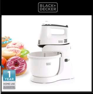 Pengaduk Adonan Black Decker Stand Hand Mixer 300w with bowl M700