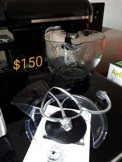 Stand Mixer 1000W with Glass Bowl