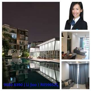 3BR unit Waterfront@Faber. Great for working/studying near NUS.