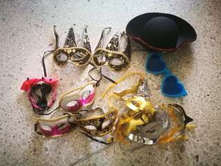 Party accessories for adults and kids