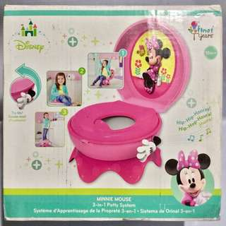 The First Years Disney Baby Minnie Mouse 3-in-1 Potty System