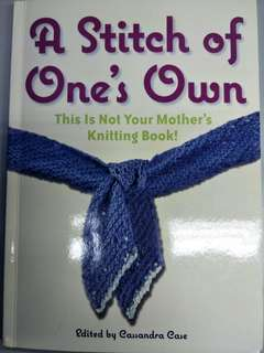 Book for Stitch of knitting (20 projects)