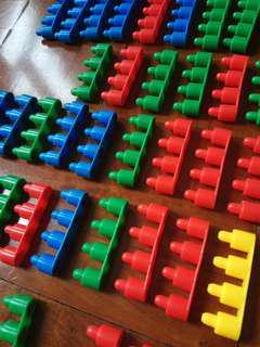 砌疊塑膠組合玩具 小手肌練習 積木