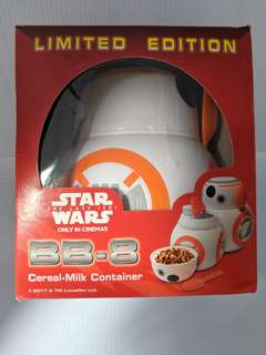 Star Wars BB-8 Cereal Milk Container