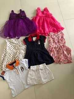 Bundle sales girls dress