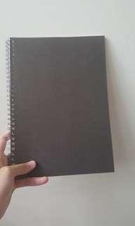 Muji B5 lined notebook