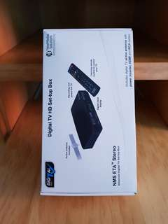 NMS ETA Digital TV HD Set-top Box
