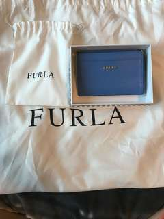 全新100% authentic Furla 零錢卡包