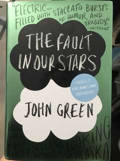 Exclusive The Fault in Our Stars (Project for Awesome 2014 Limited Print) by John Green