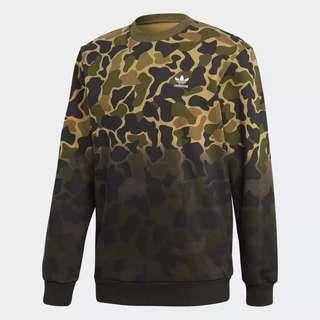 Sweater Crewneck Adidas Camouflage Original