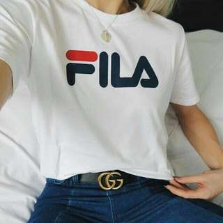 Fila tee (AVAIL ON SHOPEE)