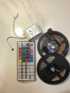 RGB LED Strip Light with IR remote control
