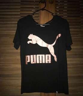 Rose Gold Puma Tee