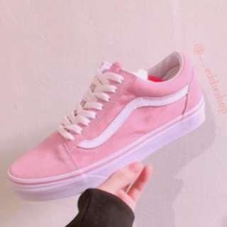 🔆現貨🔆Vans基本款 Vans 韓國🇰🇷限定 櫻花粉 粉色 無鞋盒