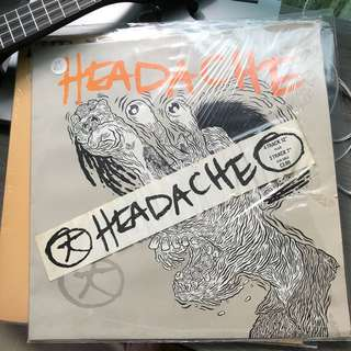 Records Vinyl - Big Black - Puds - Headache Rare LP Album Great Condition!