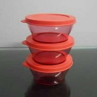 Tupperware Brands - Clear Bowl 290ml (3pc)