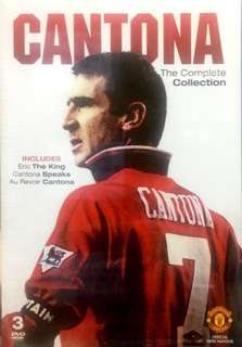 """Documentary Movie 3DVD """"CANTONA : THE COMPLETE COLLECTION"""