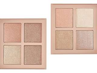 KKW Beauty highlighter palette I and II