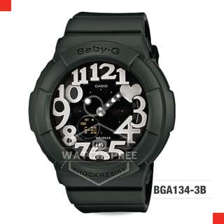 FREE DELIVERY *CASIO GENUINE* [BGA134-3B] 100% Authentic with 1 Year Warranty! BGA-1343B BGA-134-3B BGA1343B