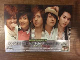 SS501's 1st Solo Album (Taiwan version)