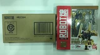 Bandai Robot 魂百式 & Mega Bazooka Launcher