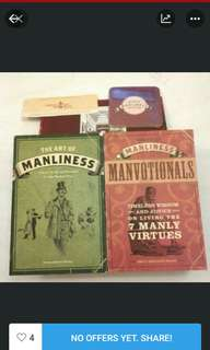 The Art of Manliness Books