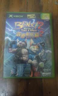 Blinx 2 Masters of Time & Space Xbox game