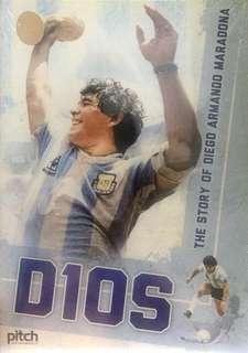 "Documentary Movie DVD ""DIOS : THE STORY OF DIEGO ARMANDO MARADONA"""